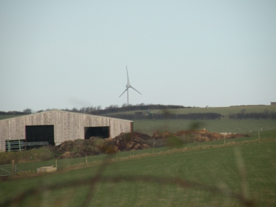 distant new turbine